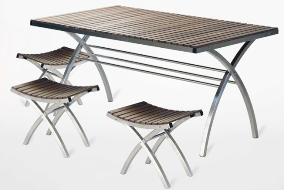 Osiris Outdoor Table & Stools