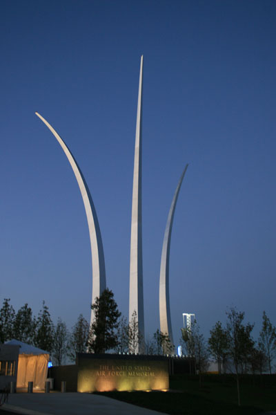 Privacy Policy >> Air Force Memorial