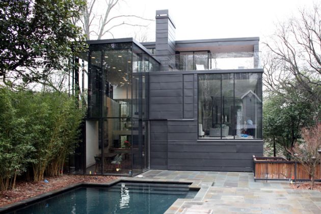 The Ansley Park Glass House by