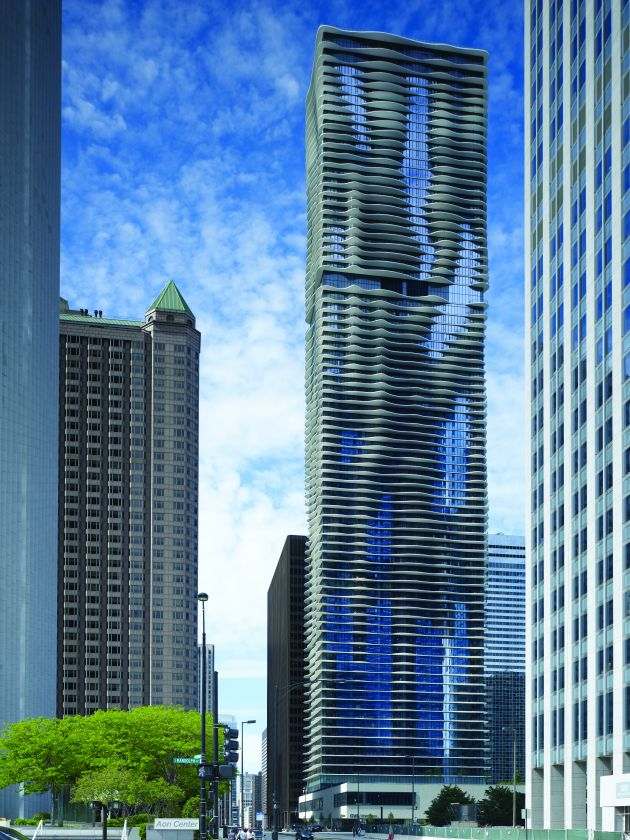 The Aqua Tower By Studio Gang Architects