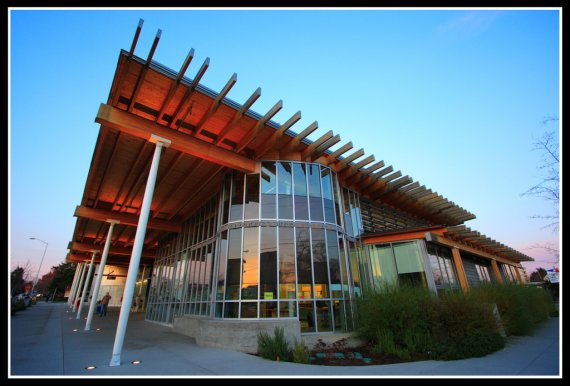Ballard Library In Seattle Washington Contemporist