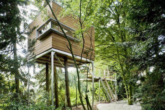 Modern Treehouses by Baumraum | CONTEMPORIST