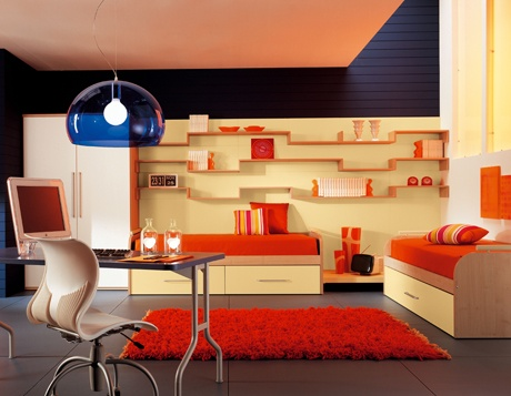 Contemporary Kids Bedrooms
