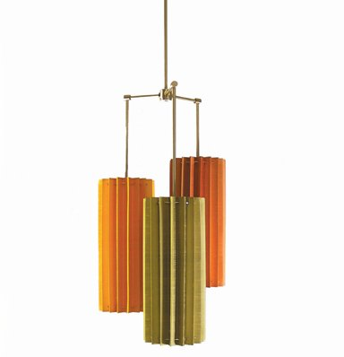 Pleated Hanging Lamp