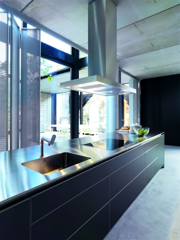 contemporary kitchen inspiration from bulthaup contemporist. Black Bedroom Furniture Sets. Home Design Ideas