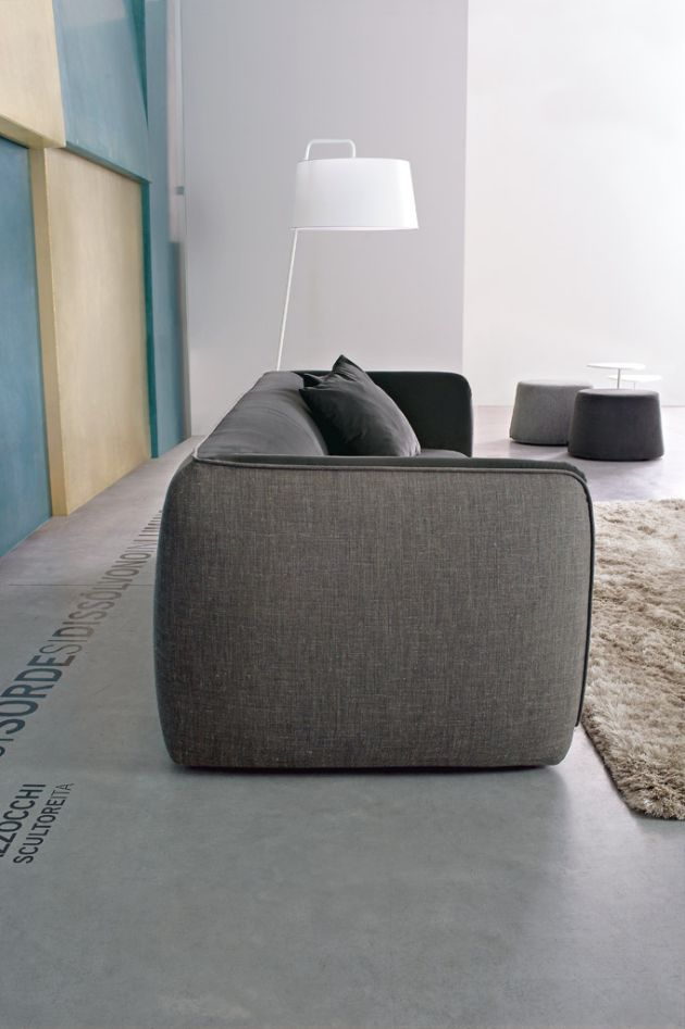 Fashion Supersoft Sofa By Paolo Lucidi