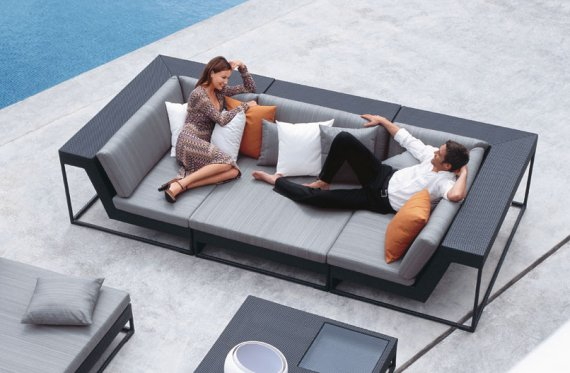 Zofa Outdoor Furniture by DEDON