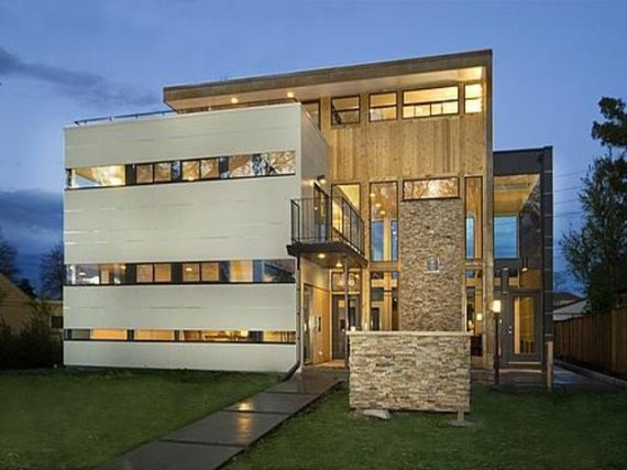 Contemporary house in denver colorado contemporist for Modern homes colorado