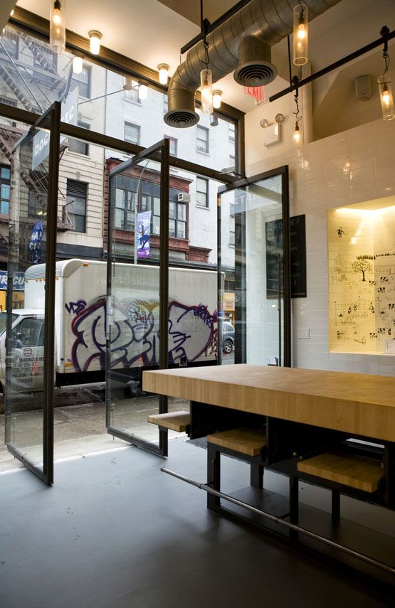 Dogmatic Restaurant Storefront And Interior By Efgh