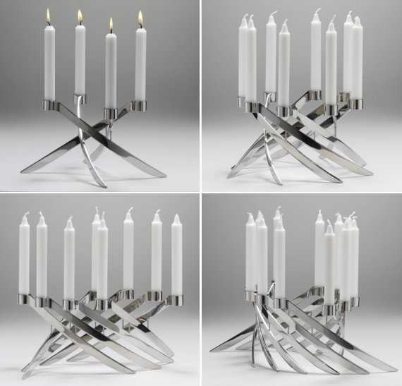 Contemporary Candleholder