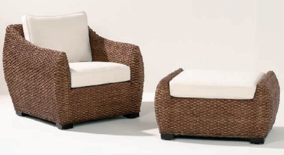 outdoor chair with ottoman. Harlequin Armchair And Ottoman Outdoor Chair With