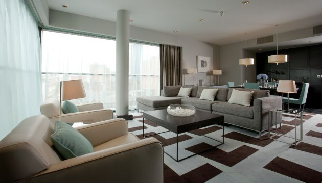 The Fitzwilliam In Belfast Is Meant To Reflect Baronial Modern Style Of Hotel Dublin A Theme Which Combines That Grand