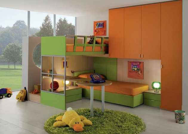 contemporary children s bedrooms from gab contemporist 12551 | gab070109 01