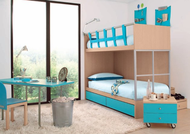 Contemporary Children\'s Bedrooms from GAB