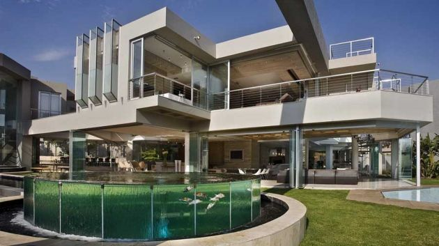 Glass house by nico van der meulen architects contemporist for Amazing house design architecture