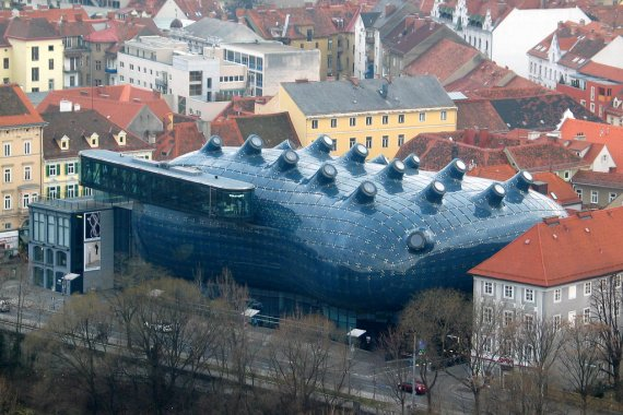 Museum Graz Architect Graz Art Museum | Contemporist