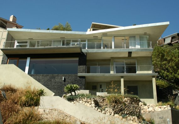 House in the Hollywood Hills CONTEMPORIST