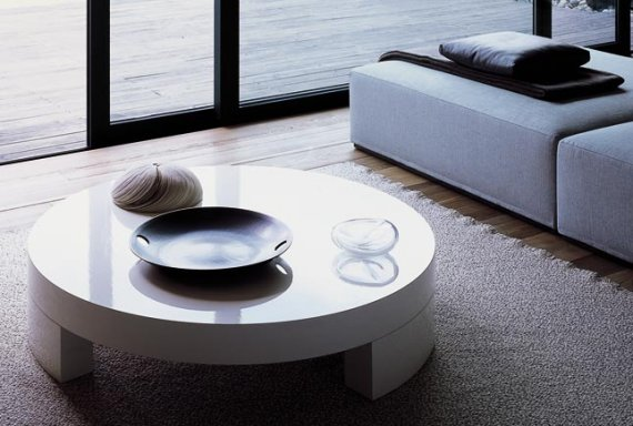 Modern Coffee Table - 8 Circular Coffee Tables CONTEMPORIST