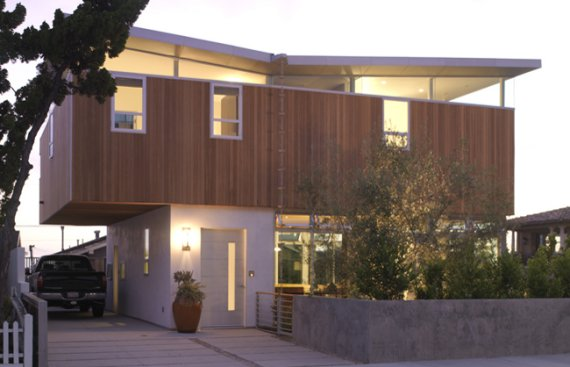 Contemporary House in Los Angeles California