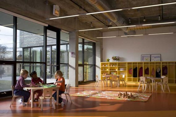Lavezzorio community center by studio gang architects - Interior design jobs in michigan ...
