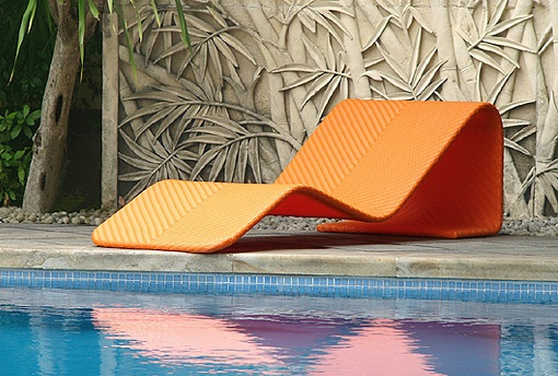 Chumy Outdoor Chaise Lounger