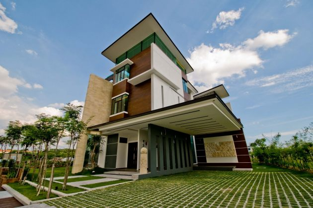 Arkitek axis Home architecture malaysia