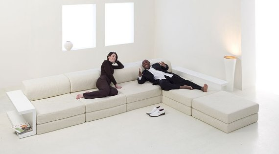 The LUDUS Modular Sofa from Mobilia Collection