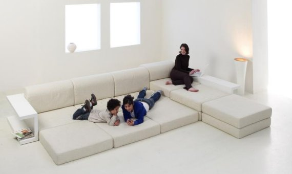 The ludus modular sofa from mobilia collection contemporist for Mobilia bedroom