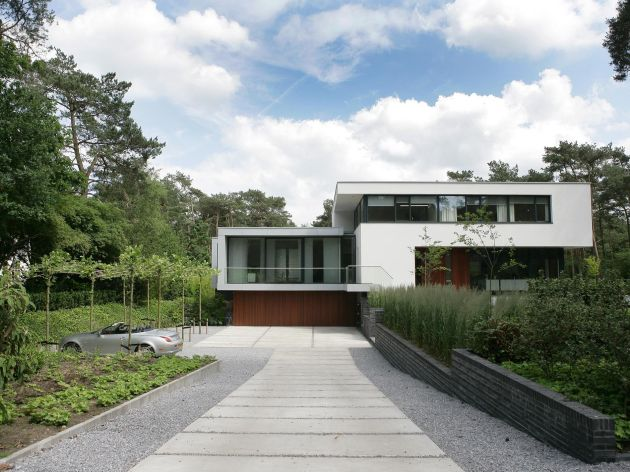House In Bosch En Duin By Maas Architects Contemporist