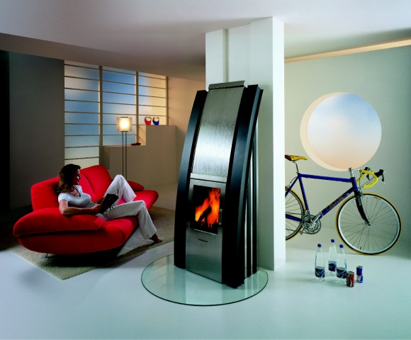 Max Blank Fireplace