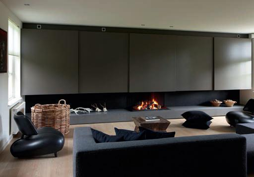 Modern Architectural Fireplaces modern architectural fireplaces from metalfire | contemporist