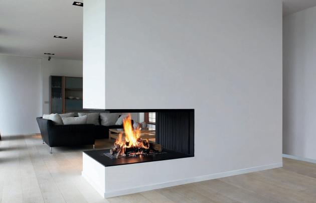 modern architectural fireplaces from metalfire contemporist