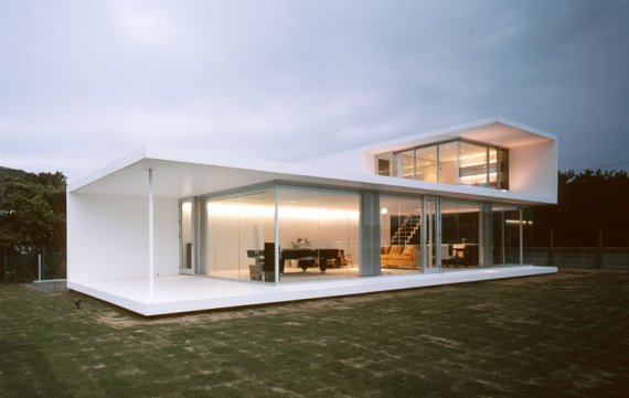 House Architects house in minami bosokiyonobu nakagame architects | contemporist