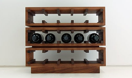Good Wine Rack. Modern Wine Holder