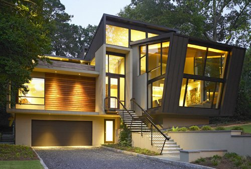 The 2008 modern atlanta home tour contemporist Modern houses in atlanta