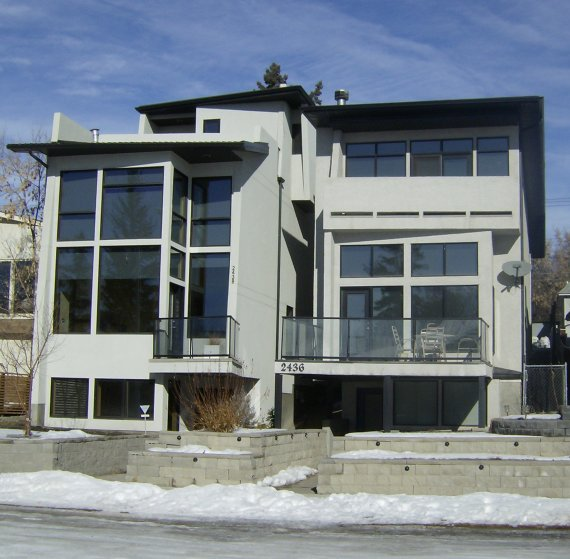 Modern house in calgary alberta canada contemporist for Modern house canada