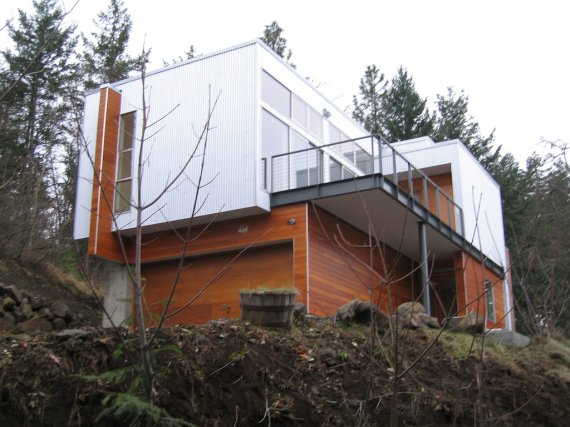 Modern house in mosier oregon contemporist for Modern house history