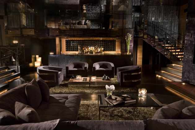 my house nightclub by dodd mitchell design contemporist