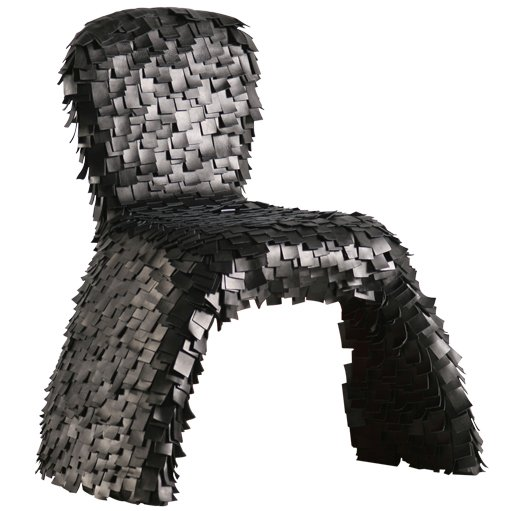Modern Black Chair