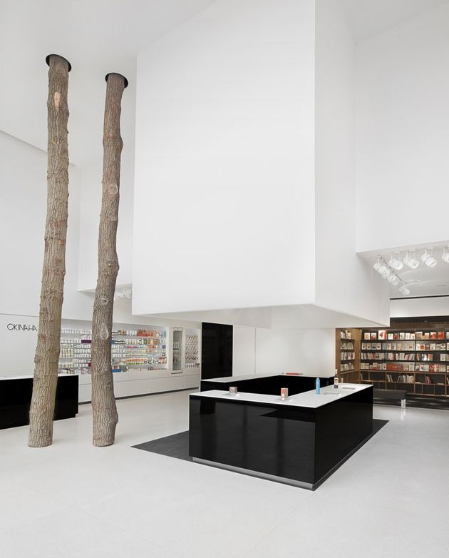 Okinaha Store Interior By Coast And As Built Architects