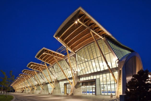 The Richmond Olympic Oval by Cannon Design | 630 x 420 jpeg 51kB