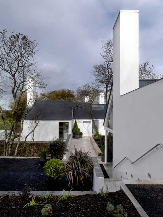 in Northern Ireland.  Kells.  Jane D Burnside. has designed the Origami House, located in the village of.