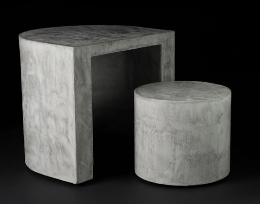 Concrete furniture