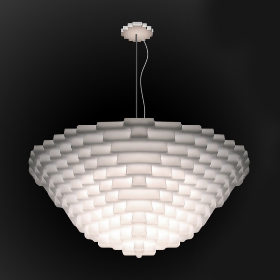 Bright Brick Ceiling Lamp