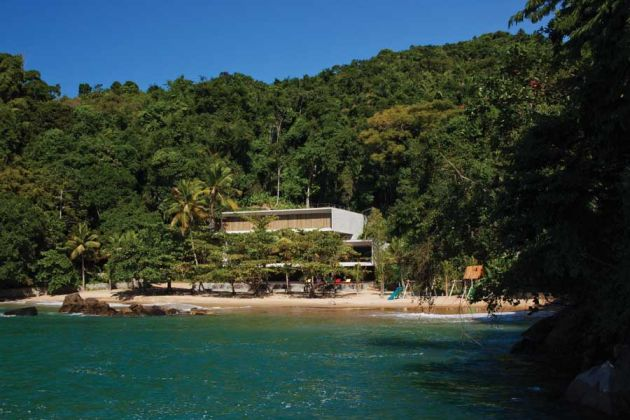 brazil house with private beach