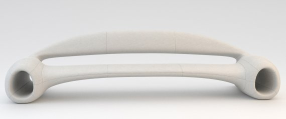 Accelerate Sofa by Phillip Grass