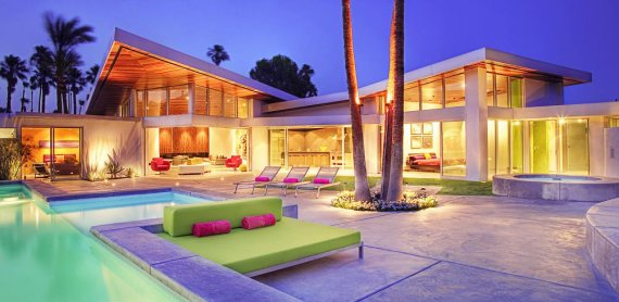 Palm Springs Gl And Steel House Contemporist