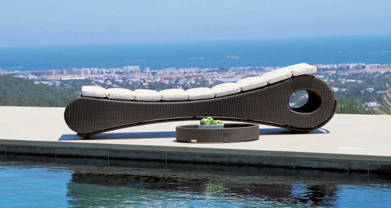 Mocca Chaise Lounge