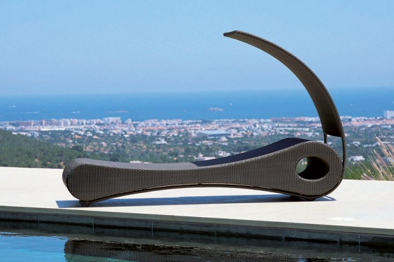 Mocca Chaise Outdoor Furniture