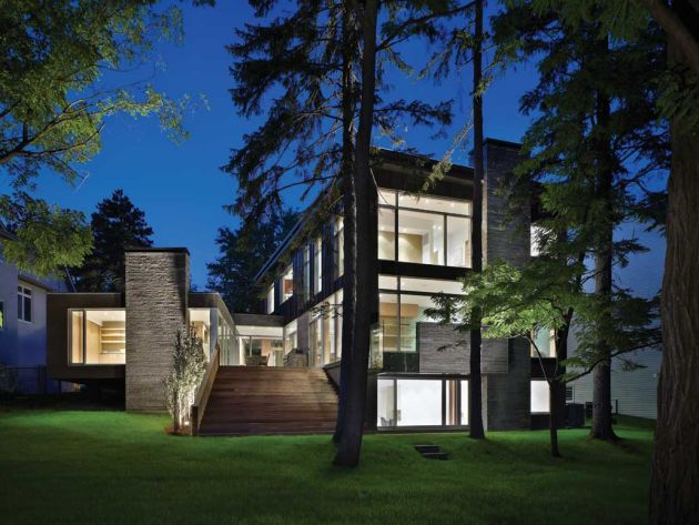 The Ravine Residence By Cindy Rendely Architexture Contemporist